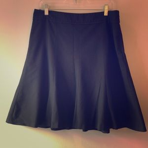The Limited Black Collection Fit & Flare Skirt